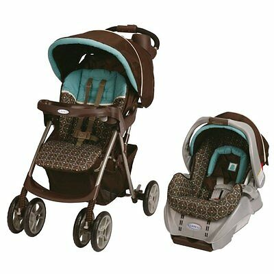 Graco Spree Classic Connect Stroller & Infant Car Seat Travel System - Ollie