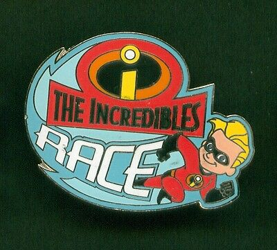 Disney Pins The Incredibles Race