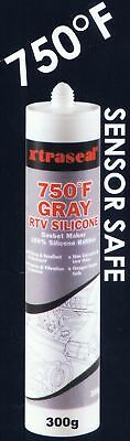 X'traseal Gasket Sealant  GREY, HIGH TEMPERATURE RTV Silicone, 300gm Cartridge