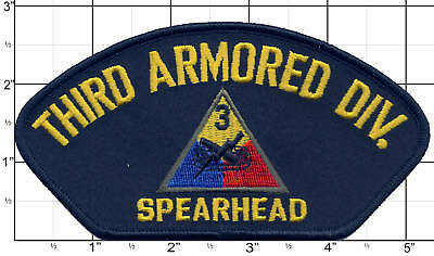 THIRD ARMORED DIVISION Patch