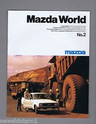 #T23.  1984  MAZDA WORLD No. 2  BOOKLET