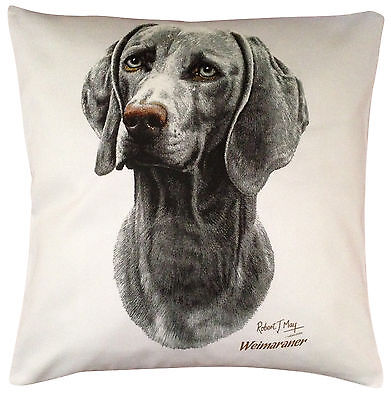 Weimaraner RM Breed of Dog Themed Cotton Cushion Cover - Perfect Gift