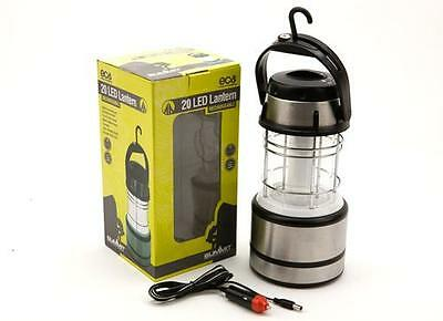 Summit 20 LED Rechargeable Camping Fishing Outdoor Light Lantern Lamp Torch