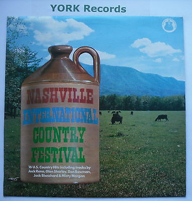 NASHVILLE INTERNATIONAL COUNTRY FESTIVAL - Various - Ex LP Record Nashville Int