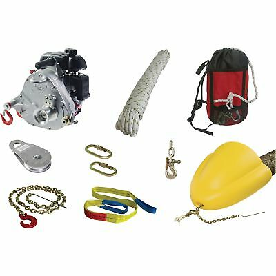 Portable Capstan Winch Forestry Kit #PCW5000-FK