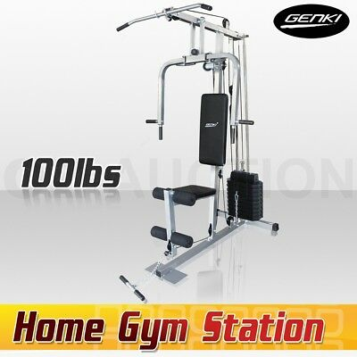 Genki Multi-Station Weight-lift Weight Bench Home Gym Dumbbell Fitness Equipment