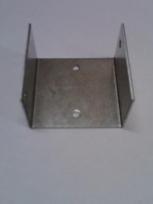 Six Fence panel clips 50 mm panel to post bracket