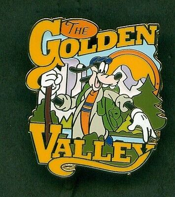 Disney Pins Goofy The Golden Valley Adventures By Disney