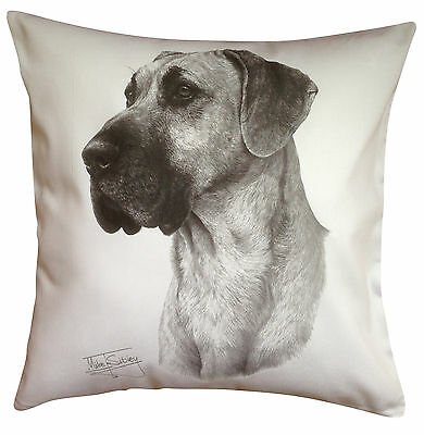 Great Dane MS Breed of Dog Themed Cotton Cushion Cover - Perfect Gift