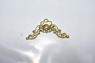 Pressed  Brass Ornament New Mantel / Wall Clock Parts 1 1/2