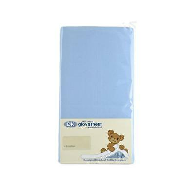 Original DK Glovesheet Small Moses Basket Fitted Sheet (Sky)