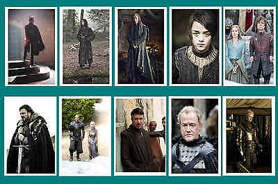 Game Of Thrones -    Photo Postcard Set # 4
