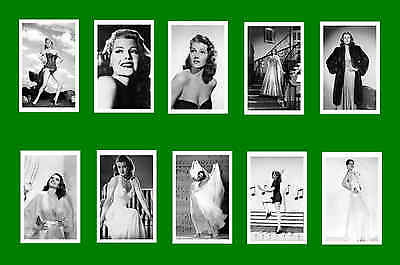 Rita Hayworth -    Film Photo Postcard Set # 1