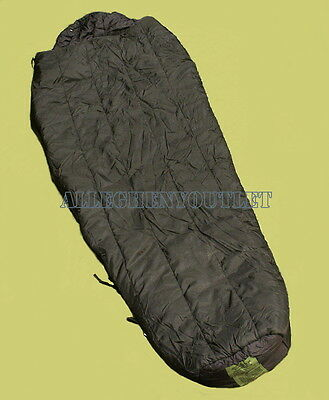 Intermediate Cold Weather Sleeping Bag Mummy US Military Modular -10° BlacK VGC