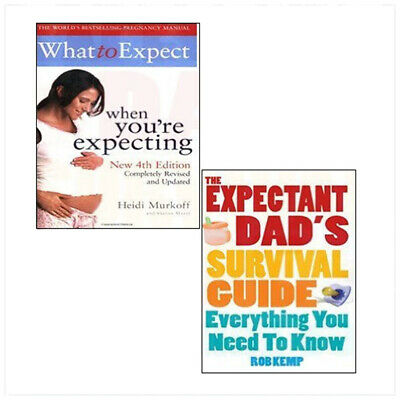 What to Expect When You're Expecting,The Expectant Dad's Survival Guide 2 Books