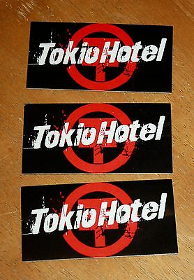 Tokio Hotel 3 Original Record Company Promo Stickers Scream