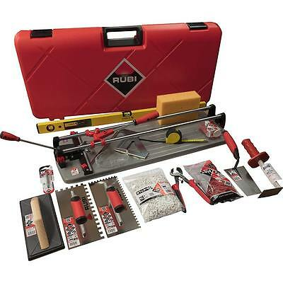 Rubi Tiling Silver Kit 2 - Rubi TS 66 MAX Tile Cutter - (Previously TS 60 Plus)
