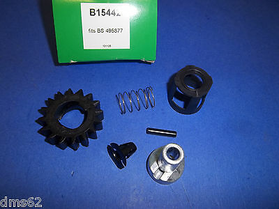New Replac Briggs Electric Starter Drive Kit With Pin  696539 495877  15442 Btt