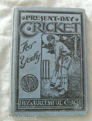 #t20.  Early Cricket Book - About 1902