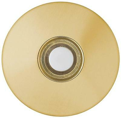 Carlon DH1260L Wired Door Bell Pushbutton, Brass