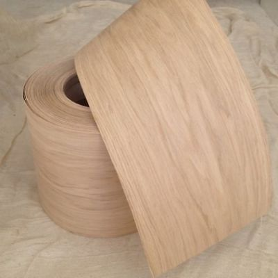 Pre Glued Iron on Oak Wood Veneer Sheets 150mm wide, you choose the Length