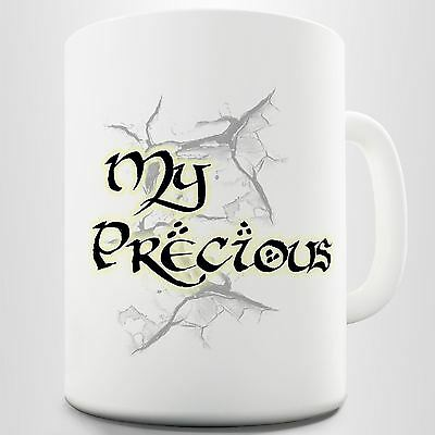 My Precious Lord Of The Rings Movie Quote Printed Coffee Mug