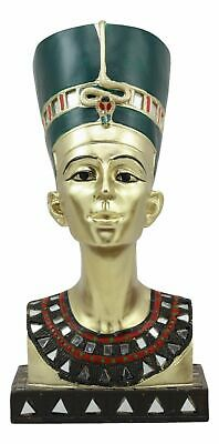 Ancient Egyptian Myth Legend Queen Nefertiti Bust Figure Sculpture Home Decor