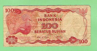 Indonesia 100 Rupiah  Banknote - 1984  Issue Type