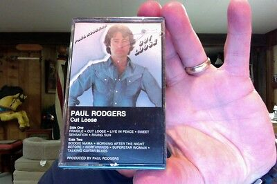 Paul Rogers- Cut Loose- new/sealed cassette tape- Free/Bad Company/The Firm