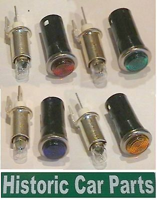 GREEN RED BLUE AMBER colours of Warning Lights 12v Replaceable bulbs LIGHT