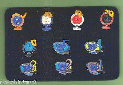 #T24. SAMSUNG  BOXED  GIFT SET OF SYDNEY OLYMPIC 1 to 10 DAYS TO GO   PINS