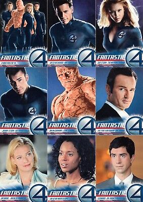Fantastic Four 4 The Movie 2005 Upper Deck Complete Base Card Set Of 100 Marvel