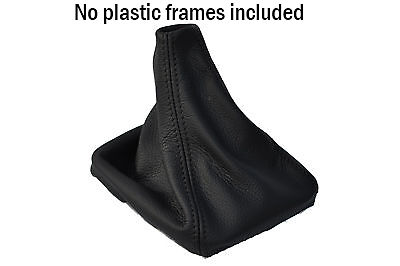 Black Stitch Fits Nissan Navara D40 2006+ Gear Gaiter Real Lthr Shift Boot New