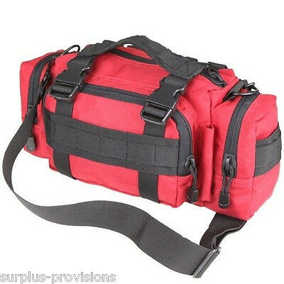 Condor #127 Tactical Deployment Bag Red - Molle Hunting Pack pouch