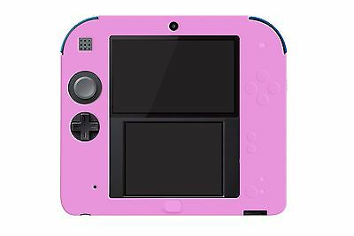 Hellfire Trading 2DS Pink Silicone Soft Cover Rubber Gel Skin Case