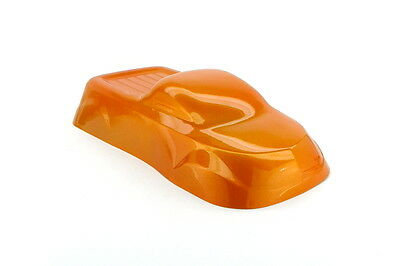 Powder Coating Paint Light Orange Dormant 1LB (.45KG) - Clear Coat Needed