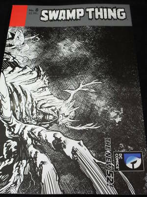 """Swamp Thing #8 Snyder 1:25 Wrap Var Cover """"new 52"""" (Dc Comics)"""