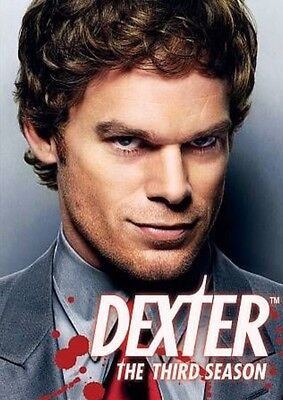 DEXTER - The Complete Third Season (DVD, 2009)    NEW & SEALED