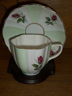 Porcelain Cup & Saucer - Crownford Fine Bone China England