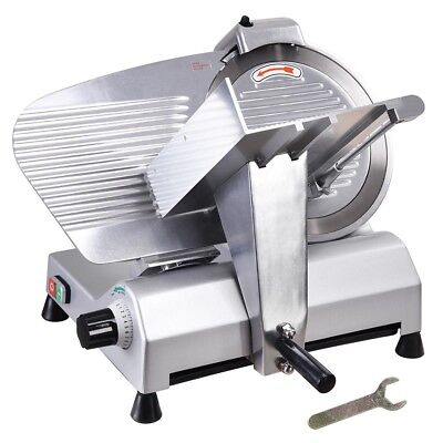 "12"" Blade Commercial Meat Slicer Electric Deli Slicer Veggies Cutter Kitchen"