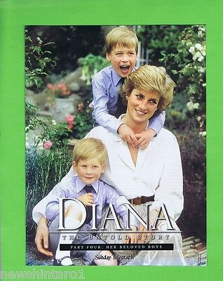 Princess  Diana Special Issue  Part  Four  -  Her Beloved Boys