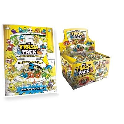 The Trash Pack Trading Card Game - Yellow - Series 2 - The Toilet Splash