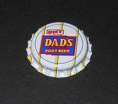 Vintage Diet Dads Root Beer..plastic..unused..SODA BOTTLE CAP