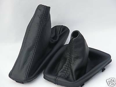 Fits Bmw E30 Leather Gear Shift Stick & Handbrake Gaiter New