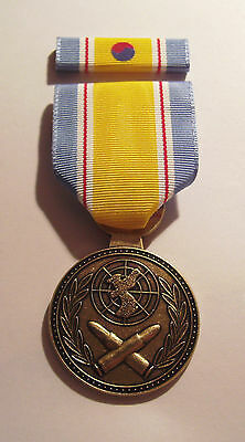 Korean Service Military Medal with ROK War Service Ribbon