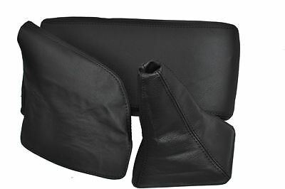 Fits Supra Mk3 Arm Rest Cover+Gear+Handbrake 86-92 Black St