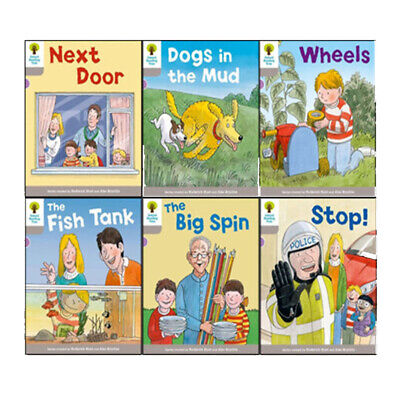 Oxford Reading Tree Decode and Develop Collection Level 1: 6 Book Set(Next Door,