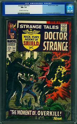 Strange Tales 151 Cgc 9.2 - Ow/w Pages