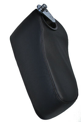 black stitch FITS MERCEDES W107 ARMREST LEATHER SKIN COVER ONLY