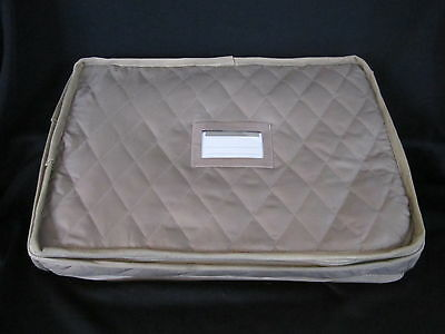 QUILTED STORAGE CASE - for LARGE PLATTER STORAGE up to 18""